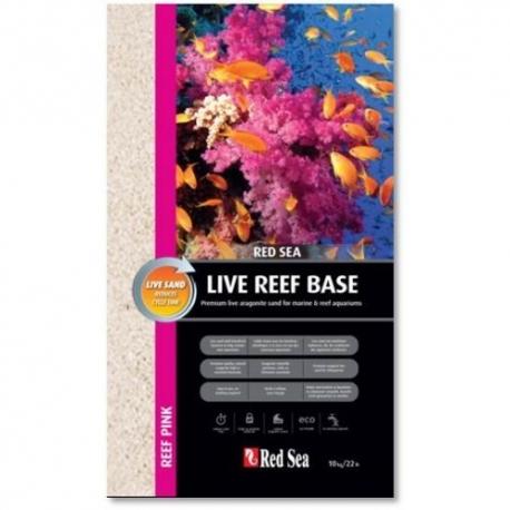 Red Sea Live Reef Base Ocean Pink (живой песок 0.5 - 1.5 mm)